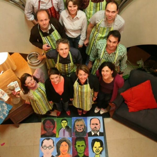 MyTeamBuilding Paint Your Colleague On The Warhol Way 1 3